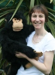 Carol and Charlie the Monkey